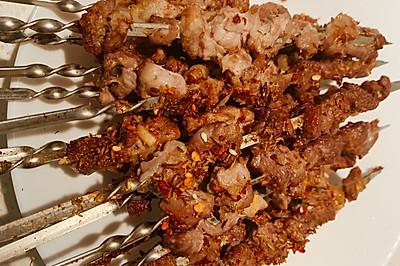 烤羊肉串(家庭烤箱版)