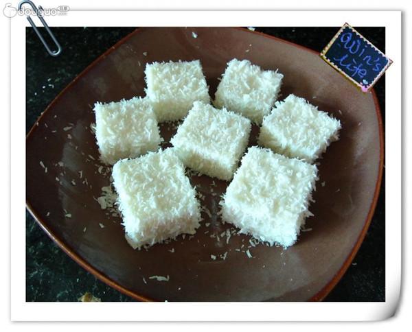 椰丝奶冻的做法