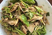 鸡丝老虎菜的做法