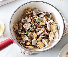 黄油蒜香蛤蜊的做法