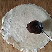 红豆沙春卷的做法图解3