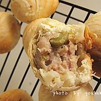 苏式榨菜鲜肉月饼 的做法图解9