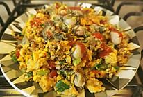 #美食视频挑战赛# 海蛎煎蛋~全是蛋白的减肥餐的做法