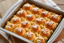 """#""""佳""""节好滋味# 小熊挤挤面包的做法"""