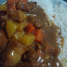 猪肉咖喱饭