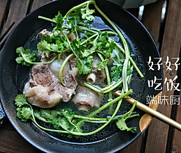 #家常菜# 牛尾汤 孤独的美食家版的做法