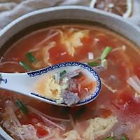 #相聚组个局#金针菇牛肉汤的做法图解12