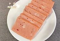 别再给孩子买火腿肠了!试试自制午餐肉 无添加肉香软 蒸午餐肉