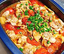 番茄罗勒烤鸡腿的做法