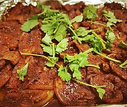 必光盘的烤五花肉的做法