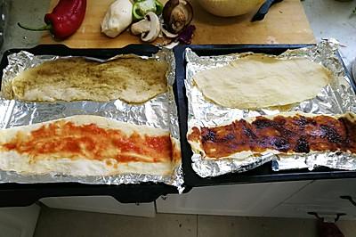豆渣薄饼(四种口味)