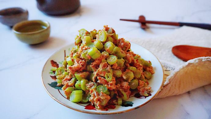 虾酱鸡蛋四季豆