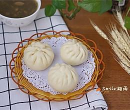 莲蓉包子(一次发酵法)的做法