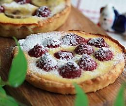 树莓奶油椰蓉塔的做法