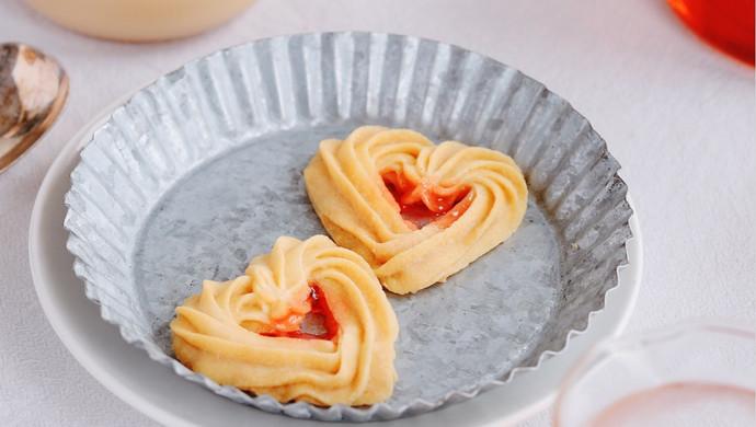 自制情人节礼物:爱心曲奇饼干
