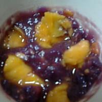 紫薯木瓜羹的做法图解5