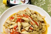 #百变鲜锋料理#蚝油杏鲍菇的做法