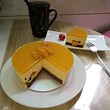 零失败不用烤箱的芒果慕斯蛋糕6寸