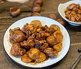 冬季养生菜:板栗烧鸡的做法