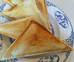 火腿沙拉芝士三明治~早餐机版的做法