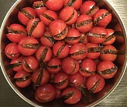 番茄话梅的做法