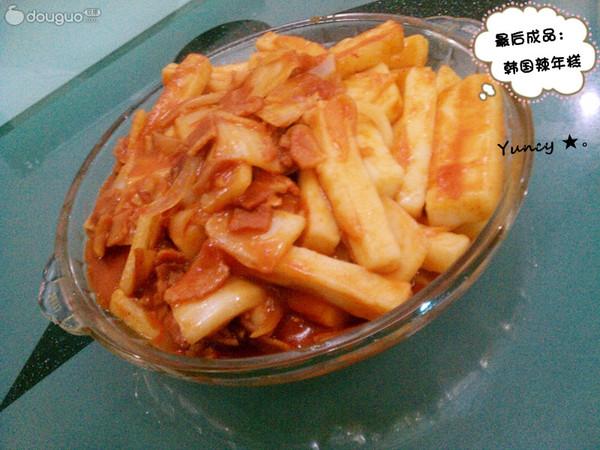 DIY韩国辣年糕的做法