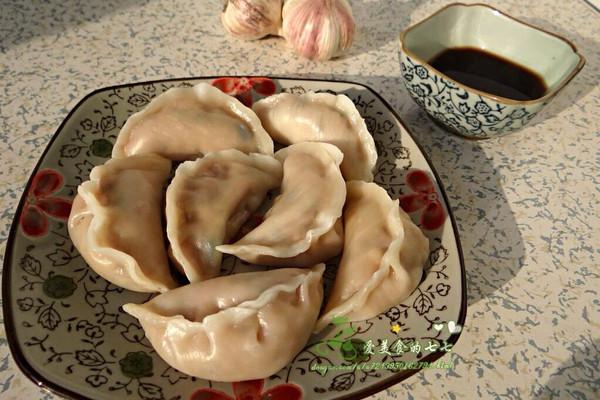 家乐浓汤宝之杏鲍菇水饺的做法
