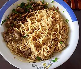 花生(芝麻)酱拌面 沙县名小吃的做法