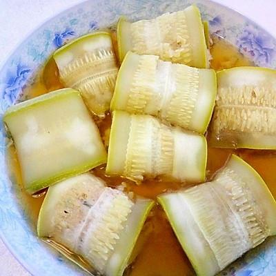 西葫芦蒸肉卷