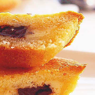 法式月饼 【奶酪果干注心的月饼】
