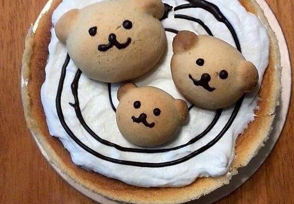 小熊轻酪乳蛋糕的做法