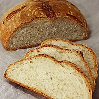 乡村面包的做法图解3