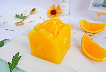 Q弹爽滑❗自制无添加❗香橙布丁的做法