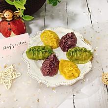 营养早餐|蔬菜汁彩色饺子