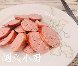 零添加QQ弹~猪肉火腿肠的做法