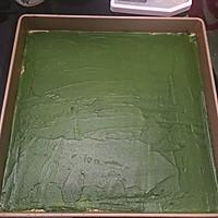 波浪抺茶蛋糕卷的做法图解6
