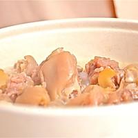 迷迭香美食| 黄豆炖猪蹄的做法图解8