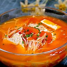 开胃素汤,番茄豆腐汤