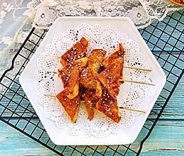 酱烤三角豆腐的做法