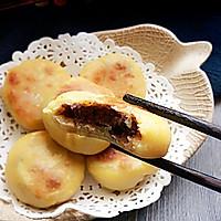 玉米红豆饼#发现粗粮之美#的做法图解9