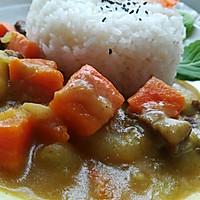 牛肉咖喱饭的做法图解8