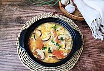 #花10分钟,做一道菜!#西红柿豆皮蛋花汤的做法