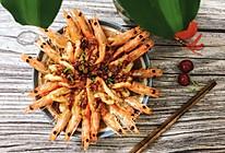 蒜泥开背虾的做法