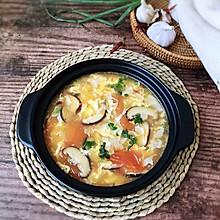 #花10分钟,做一道菜!#西红柿豆皮蛋花汤