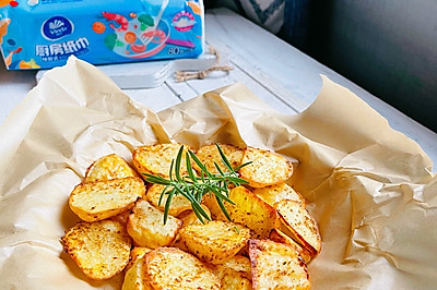 外酥里糯的香酥烤薯角