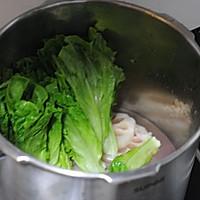 #苏泊尔巧易旋压力快锅#莲藕生菜骨头汤的做法图解5