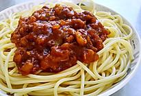 番茄肉酱意面的做法