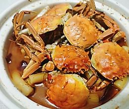 肉蟹鸡爪煲的做法