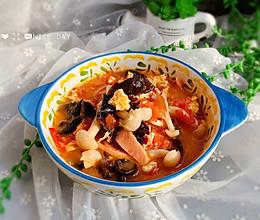 #洗手作羹汤#木耳菌菇汤的做法