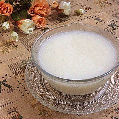 百合大米酥梨粥